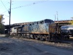 CSX 5280 Unloading Ethanol Train