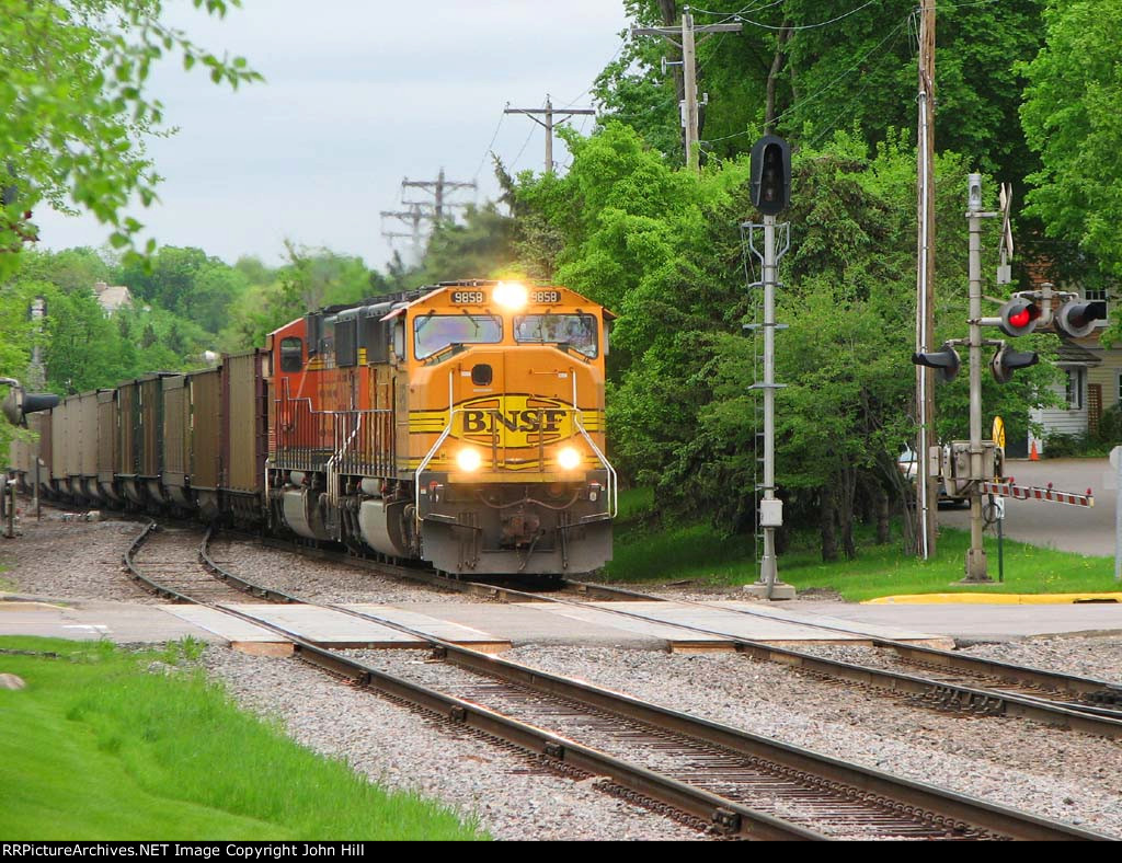 110524001 Westbound BNSF Coal Empties
