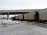 110215012 Westbound BNSF/GBRX Coal Train On TCWR