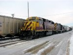 110215015 Westbound BNSF/GBRX Coal Train Meets Eastbound TCWR