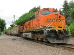 110623010 Eastbound BNSF Coal Train Crosses CO. 16 East Circle Dr.