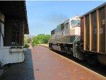 110718030 Eastbound BNSF Coal Train (COLX) Passes Wayzata Depot With DPU Shoving