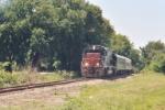 First Passenger Train since the Rock Island