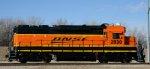 BNSF 2830 in fresh H3