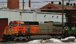 More of the BNSF #4580