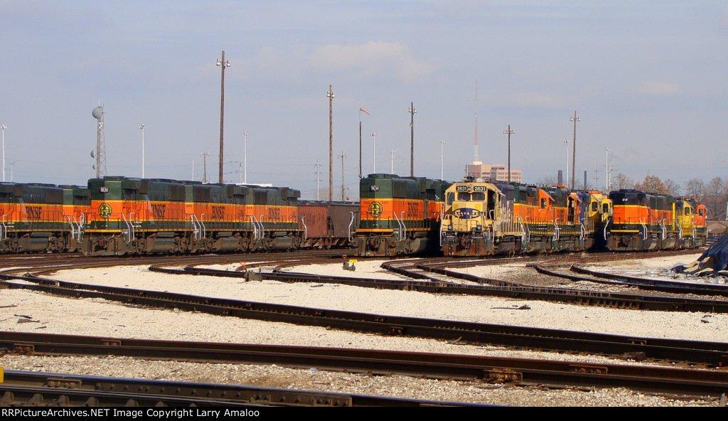 BNSF 345