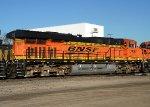 BNSF 7537 Back rear