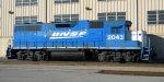 BNSF 2043 Sits at the Diesel Shop