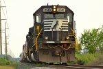 NS SD70 #2518 lead as 12G train