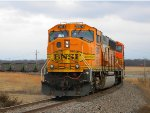 BNSF 9974 heads to the GRDA Plant