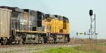 UP 6774 leads a loader coal south