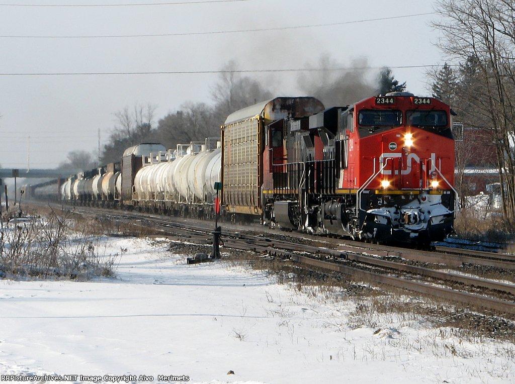 CN 392 at Ingersoll