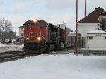 CN 393 at Ingersoll.