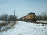 UP 6461 eastbound UP loaded coal train