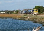 FEC 101 rolling through the marshlands at St. Augustine