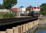 A pair of RA motors lead 101 into St. Augustine