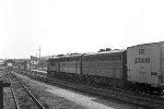 Westbound EL freight