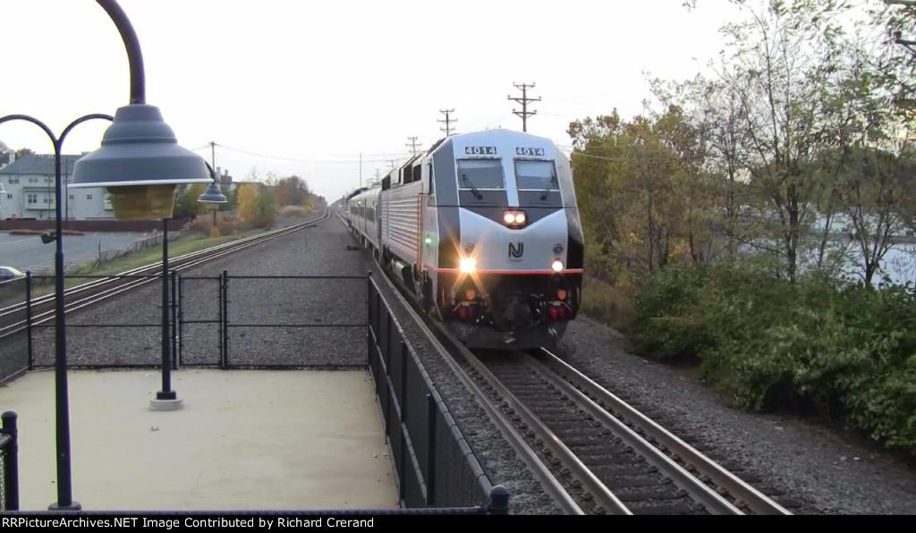 PL42AC 4014 on a Test Train
