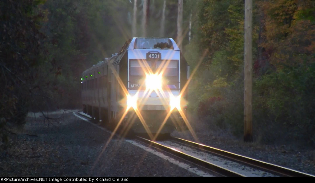 ALP-45DP 4531 on Train 1079