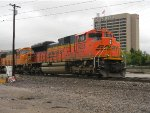 BNSF 9225 Leads Coal West
