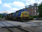 CSX 7857 Leads UP Train AASAM