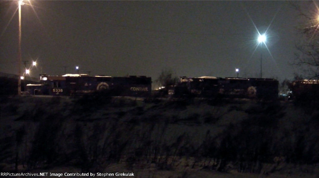 NS Local Manifest with nothing but ex-Conrail Power in Bison Yard!