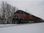 UP #1996 IN the snow