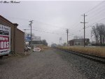 looking north on the morgantown siding