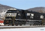 NS SD60E 6900 at Conemaugh,Pa. 1/31/2011
