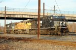 NS/UP/NS in the yard