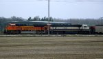 BNSF 9133 and 9554