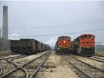 BNSF 6343 and 9133