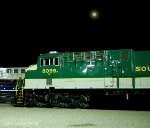 NS 8099 under the Moon
