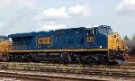 CSX 3054 on NS 893