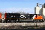 CN SD70M-2 8954