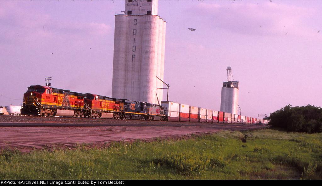 Big power, big train, big elevator