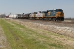 CSX power on BNSF
