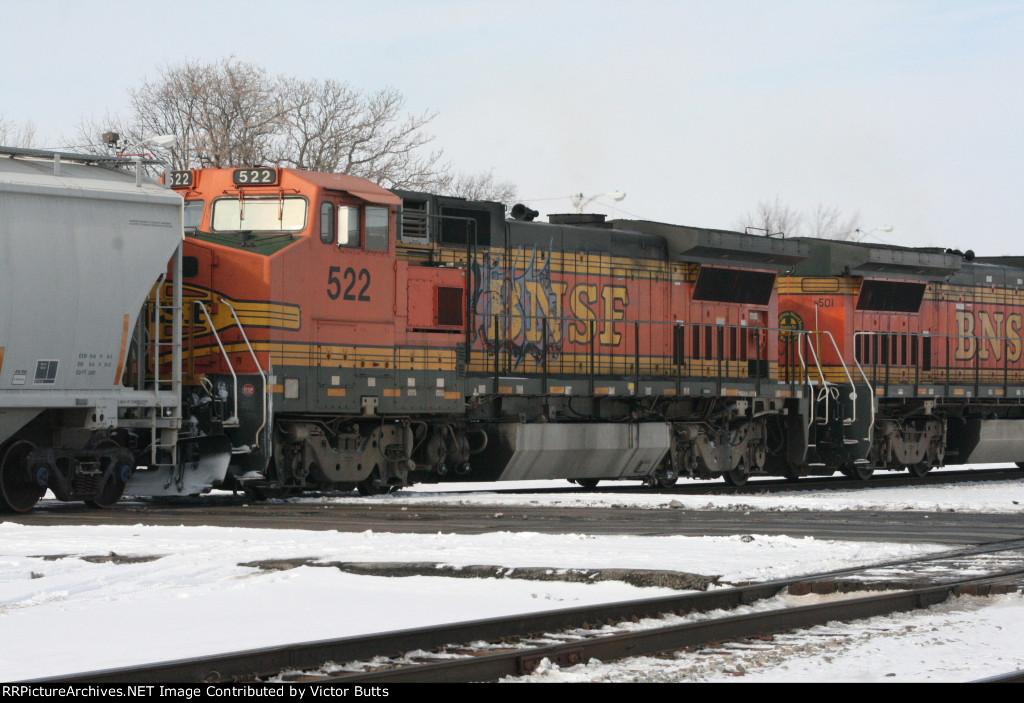 BNSF 522