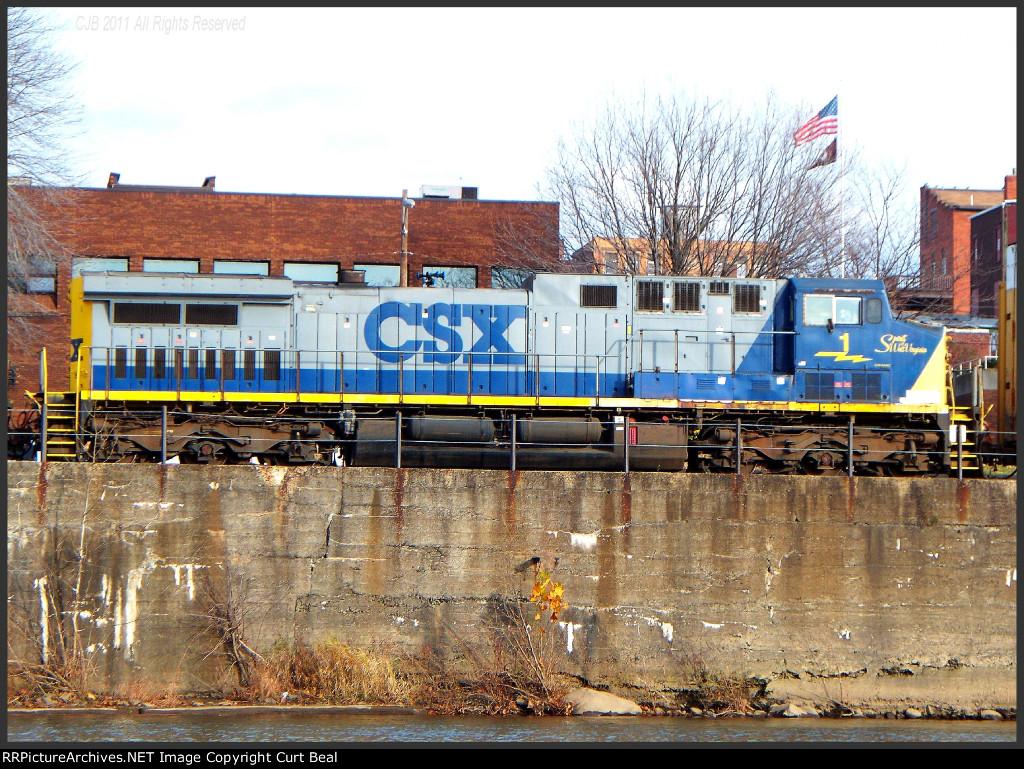 CSX 1, Spirit of West Virginia