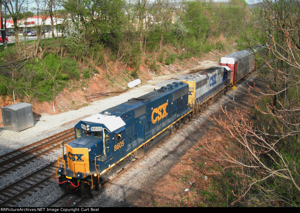 CSX 8605 and 8630 (2)