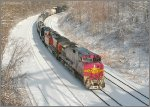 Warbonnet in the snow