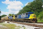 CSX 523 and 7644