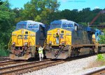 CSX 5474 and 5217