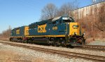CSX 6418 and 2346