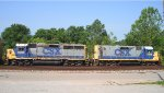 CSX 6918 and 2318