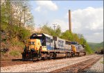 CSX 8541 and 7823