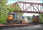 CSX 8599 and 8737