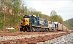 CSX 8605 and 8630