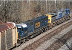 CSX 8636 and 346
