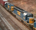 CSX 8835 and 1522